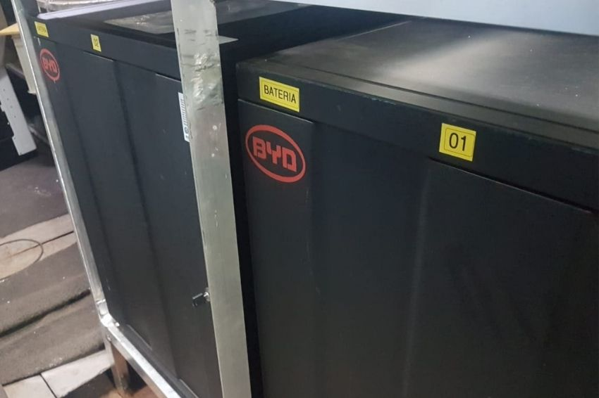 Baterias de litio BYD