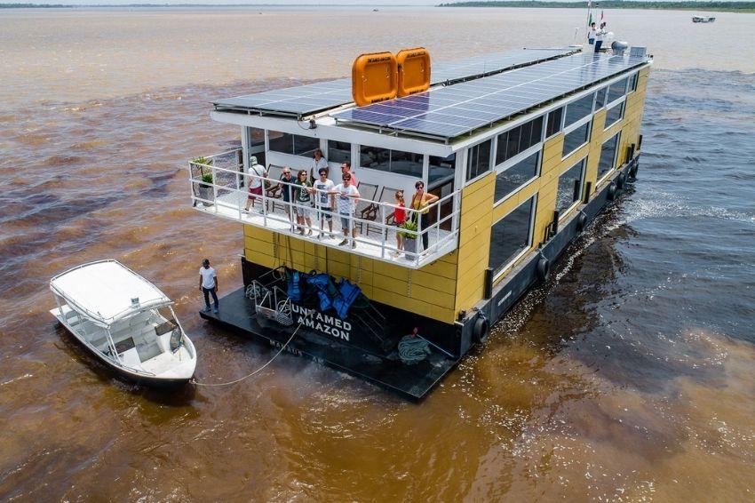 Hospedagem barco hotel