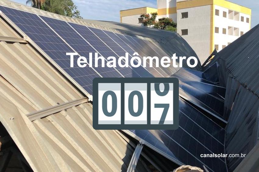 """""""Telhadômetro"""" do Canal Solar"""