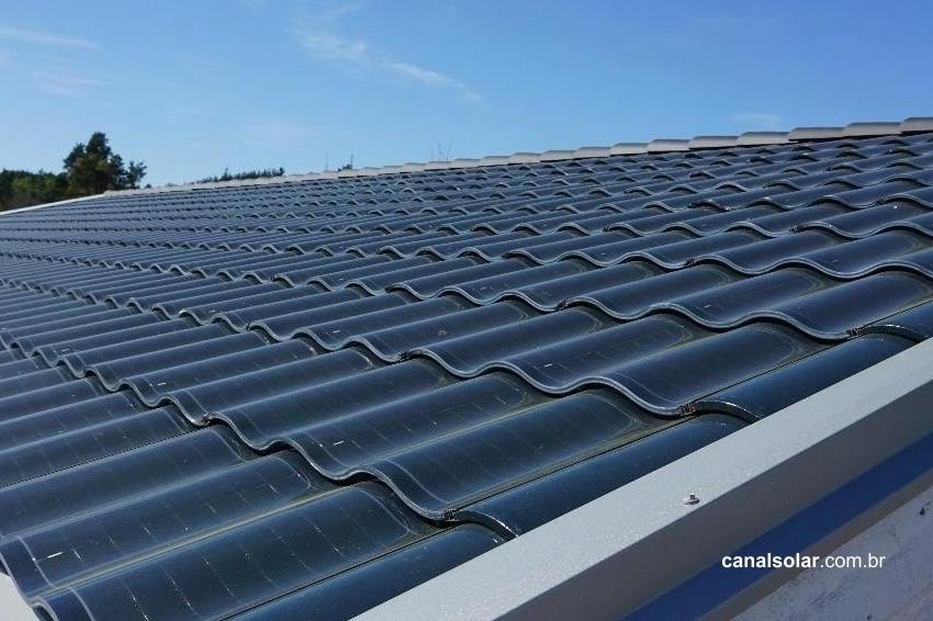Telhas fotovoltaicas são seguras?