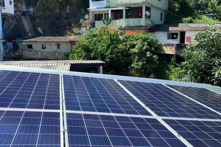 Brasil terá primeira cooperativa de energia solar em favela do RJ