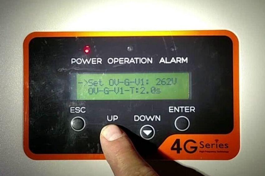 Proteção de anti-ilhamento dos inversores fotovoltaicos