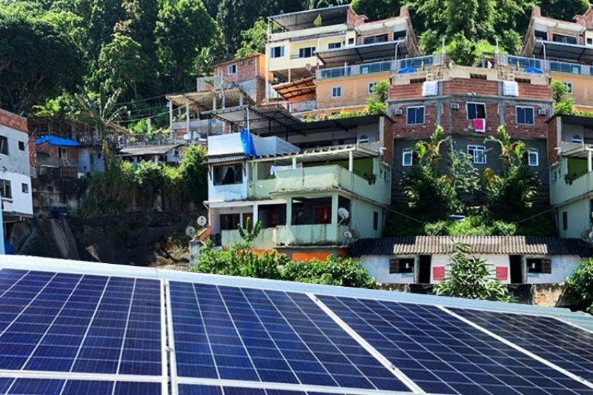 Marco legal da GD pode viabilizar inserção da energia solar nas favelas