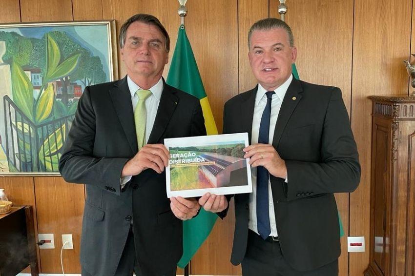 Presidente Bolsonaro mantém apoio à geração distribuída no Brasil