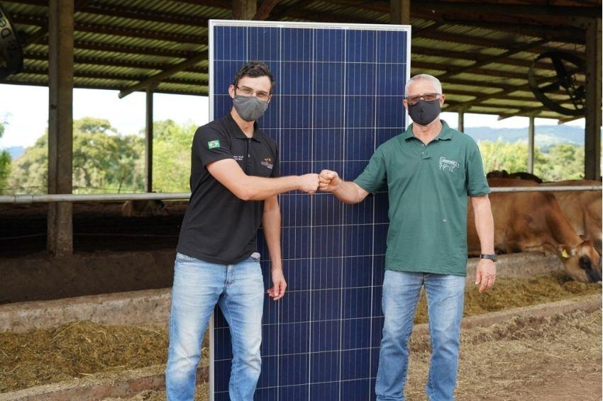 Produtor rural investe em solar e estima economia de R$ 35 mil por ano