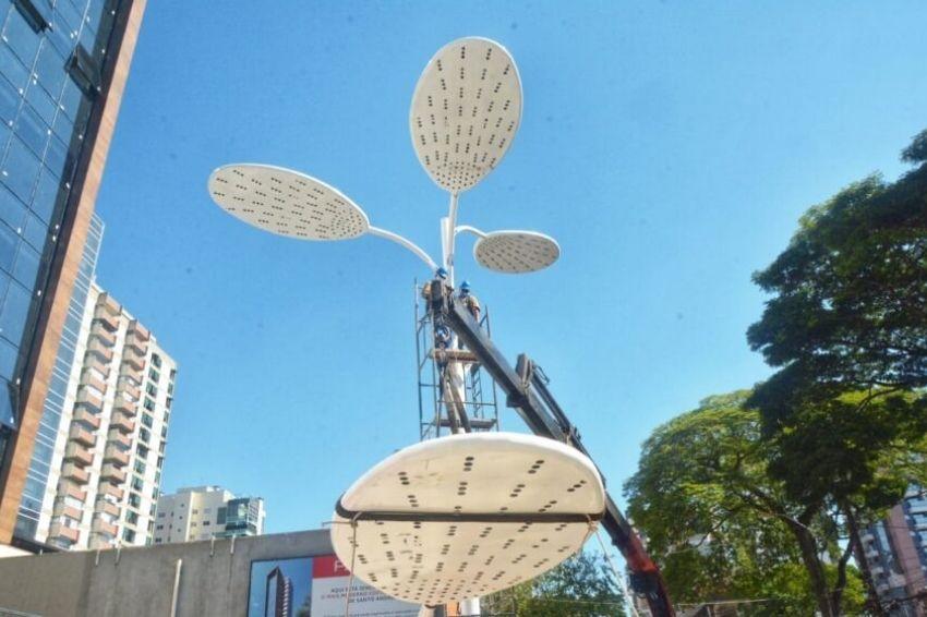 Árvore solar irá gerar emprego e renda em Santo André