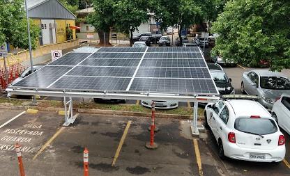 Projeto Garagem Solar - USP São Carlos