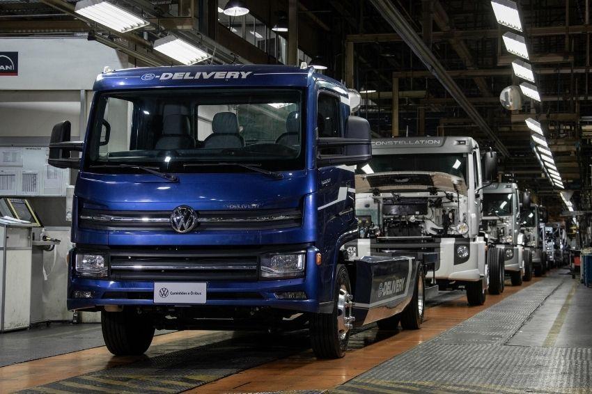 Volkswagen começa produzir caminhão 100% elétrico no Brasil