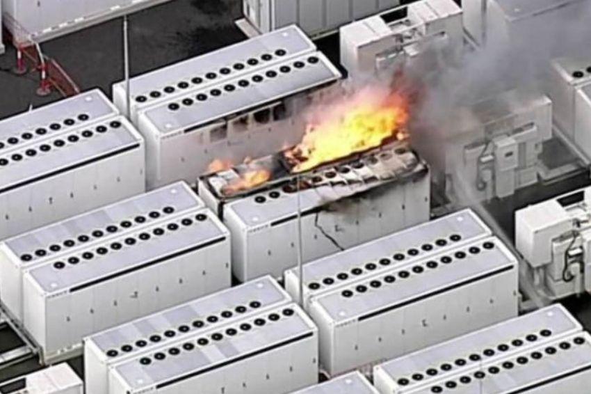 Incêndio atinge bateria da Tesla na Austrália