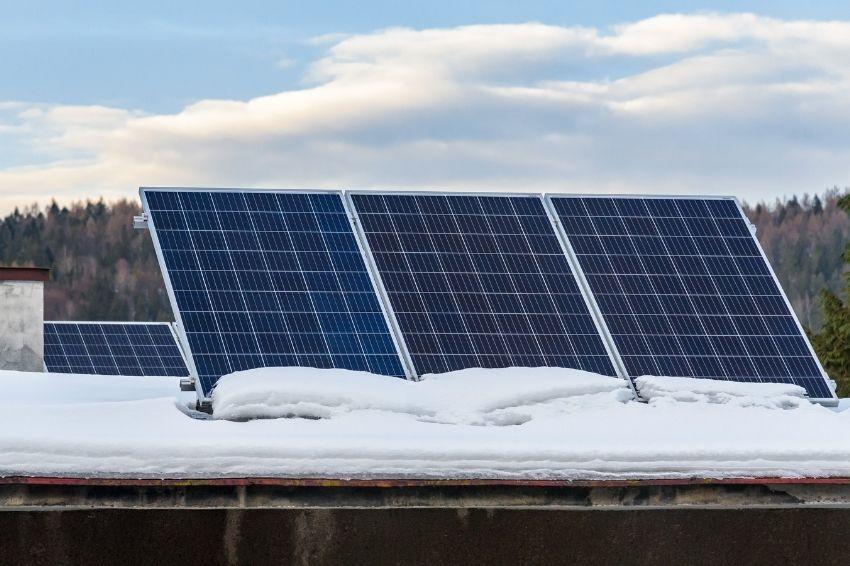 Saiba como os painéis solares se comportam nas baixas temperaturas