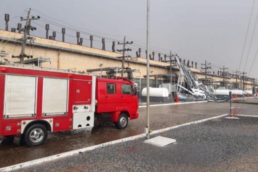 Tempestade encerra operação de termelétrica no interior de Goiás